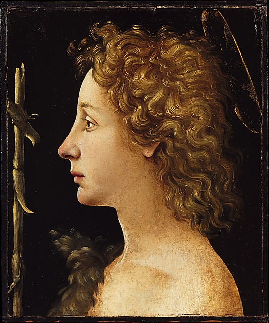 he Young St. John the Baptist