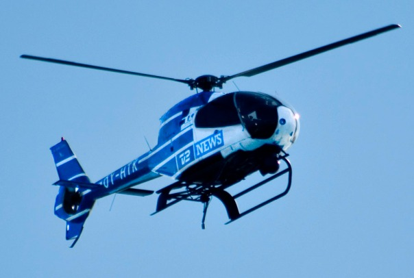 News helicopter